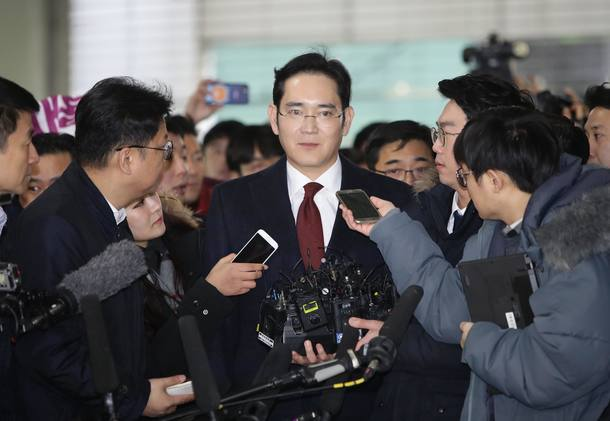 South Korean Special Prosecutor issues arrest warrent for Vice chairman of Samsung